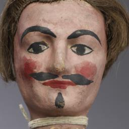 Hand Puppet With Wig, Paint...