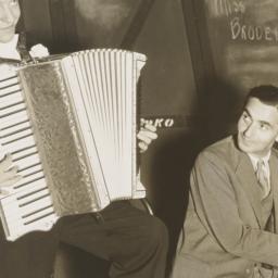Irving Berlin at piano and ...