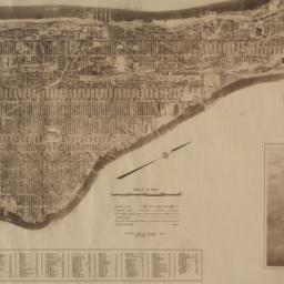The     Hamilton aerial map...