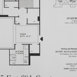 215 E. 68 Street, Apartment R