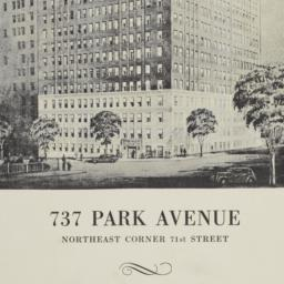 737 Park Avenue, 18th And 1...