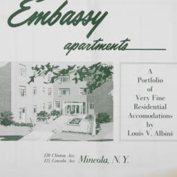 Embassy Apartments, 120 Cli...