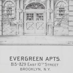 Evergreen Apartments, 813-8...
