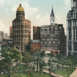 City Hall and Printing-Hous...