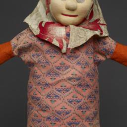 Hand Puppet Of Female With ...