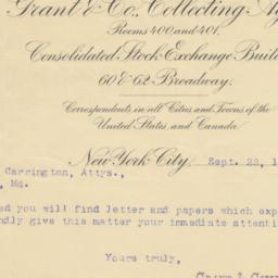 Grant & Co. Collecting Agen...