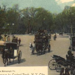 Entrance to Central Park, N...