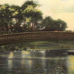 Bow Bridge, Central Park, N...