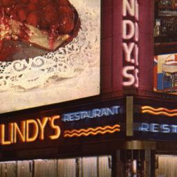 Lindy's Broadway at 51st St...
