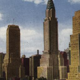 Midtown Skyscrapers, New Yo...