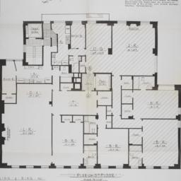 1009 Park Avenue, Plan Of 5...