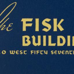 The     Fisk Building, 250 ...