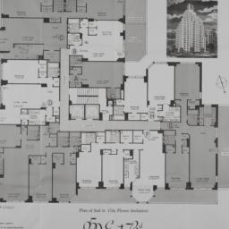 250 E. 73 Street, Plan Of 2...