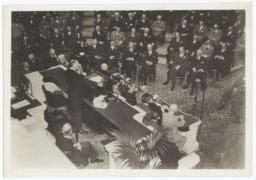 Franklin Delano Roosevelt delivering State of the Union