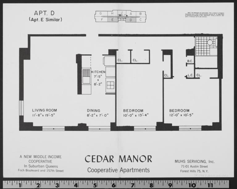 Cedar Manor, 157 Street And 116 Avenue, Apt. D - Columbia ...