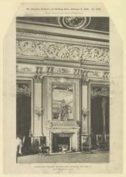 Dining-room fireplace: Metropolitan Club-House, New York, N. Y. McKim, Mead & White, Architects