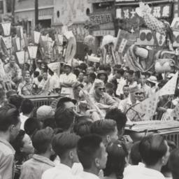 Victory Parade Chungking