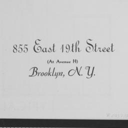 855 East 19th Street