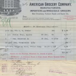 American Grocery Company. B...