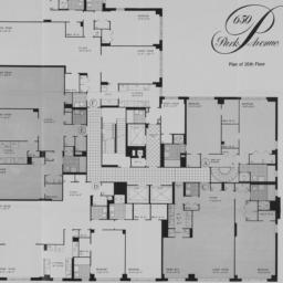 650 Park Avenue, Plan Of 16...
