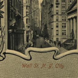 Wall St. N. Y. City
