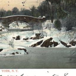 Winter Scene, Central Park,...