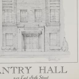 Antry Hall, 245 E. 180 Street