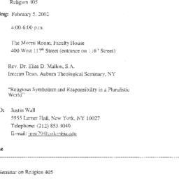Announcements, 2002-02-05. ...