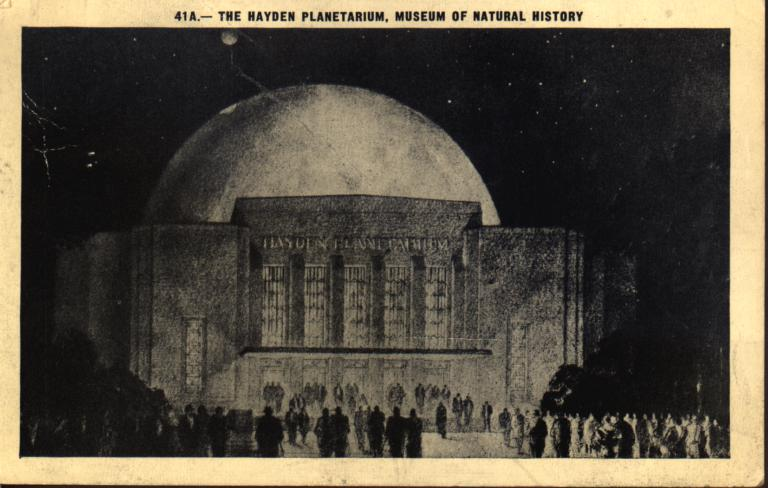 The Hayden Planetarium, Museum of Natural History - Columbia