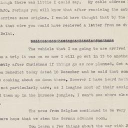 22 December 1944 letter to ...