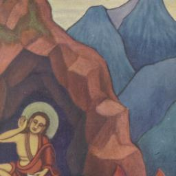 Milarepa: painting by Lama ...