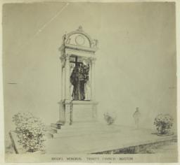 Brooks Memorial, Trinity Church, Boston