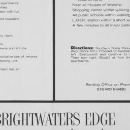 Brightwaters Edge, Howells ...