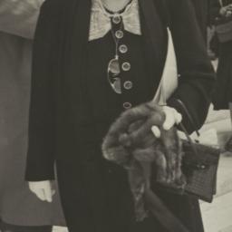 Frances Perkins after Speech