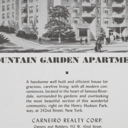 Fountain Garden Apartments,...