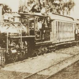 Transportation: Train on Ma...