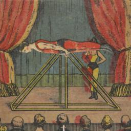 Horizontal Bar Gymnast Pantin