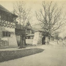 Entrance to the German Vill...