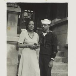 Ulysses Kay in Navy uniform...