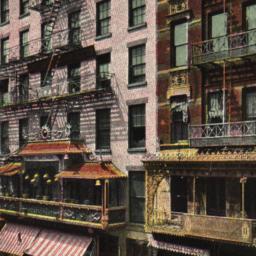 China Town. Mott St. New York.