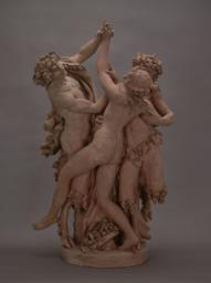 Two Satyrs and One Nymph, Front