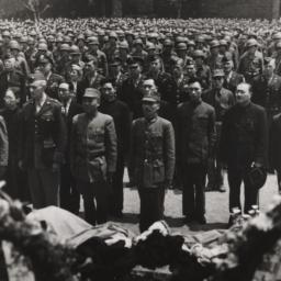Memorial Service For Roosevelt