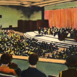 Auditorium of N.B.C., World...