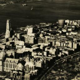 Aerial View of Columbia Uni...