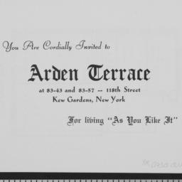 Arden Terrace, 83-43 118 St...