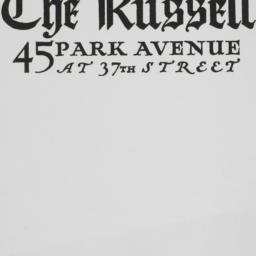 The     Russell, 45 Park Av...