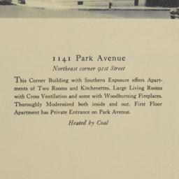 1141 Park Avenue