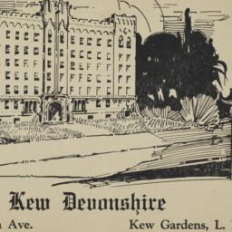 The     Kew Devonshire, 118...