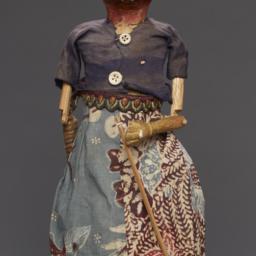 Wajang Golek Rod Puppet Wit...