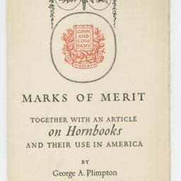 Marks of Merit, Together wi...